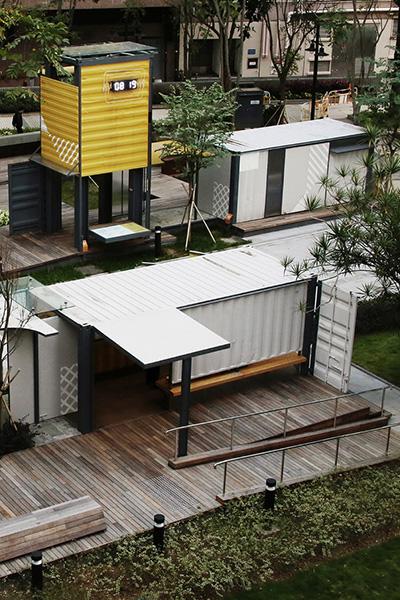 Exhibition Pavilion for Tsun Yip Street Playground, Kwun Tong, Kowloon