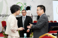Photo 1: Dr. Wilson Lu attended the Sixth Regional 3R Forum in Asia and the Pacific