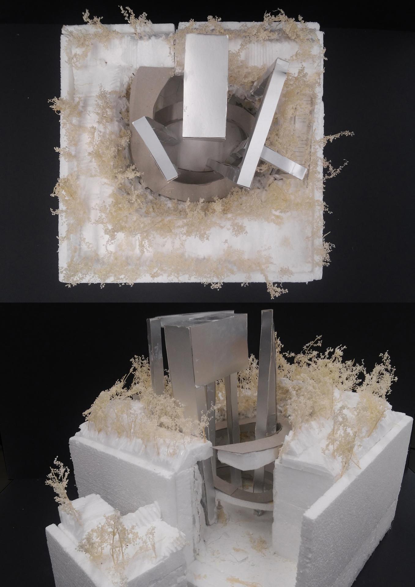 Enlarge Photo: Final design, models / Sandra NWE Saw Yu