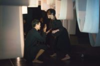 Installations and performance in the Black Box Theatre at HKU (in collaboration with creative writing students)