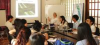 Students meeting with World Wide Fund for Nature (WWF) Mynamar in Yangon / FEI Xiaoyan Mimi