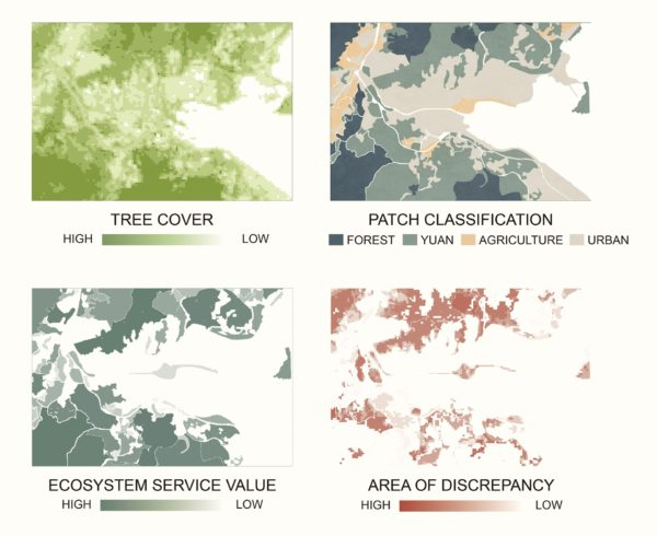 Discrepancies in ecosystem service valuation methods for Tai Po, Hong Kong. By AU YOUNG Chung Yan Samantha.