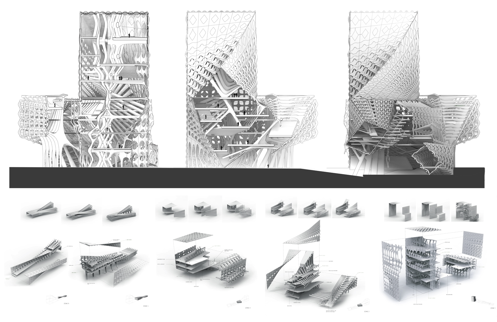 Enlarge Photo: Architecture & Urban Design III (ARCH 5001) – Articulated Surface 6