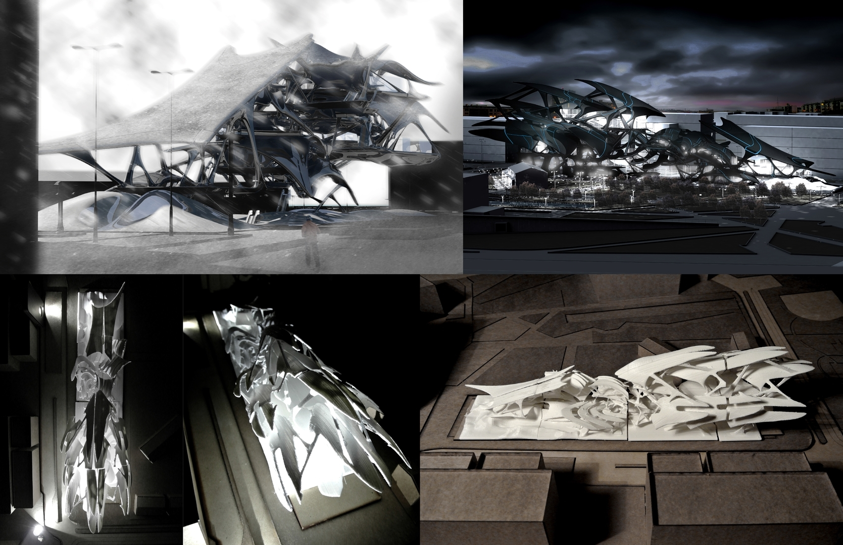 Enlarge Photo: Architecture & Urban Design III (ARCH 5001) – Articulated Surface 8