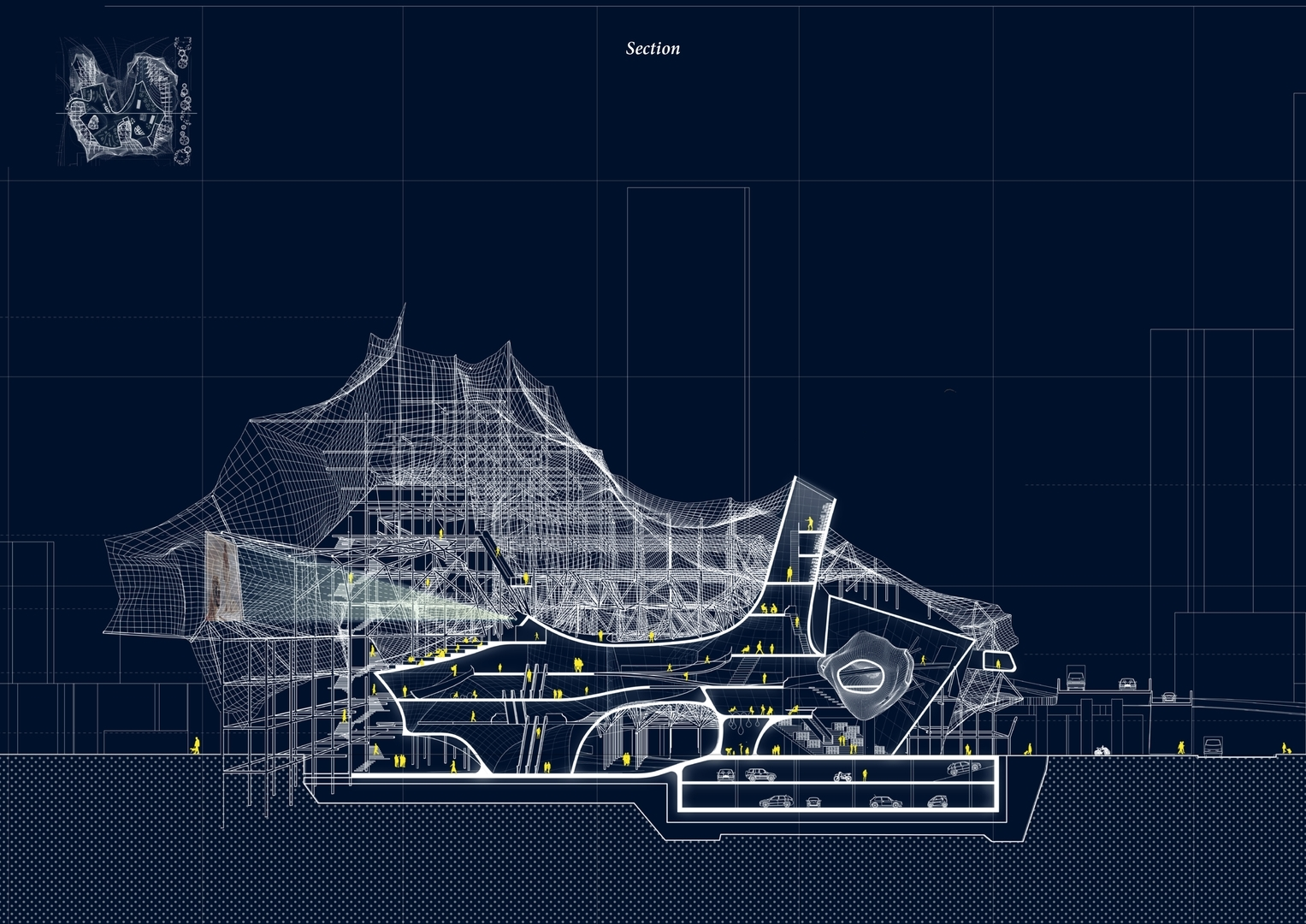 Enlarge Photo: Architecture & Urban Design III (ARCH 5001) – Articulated Surface 9