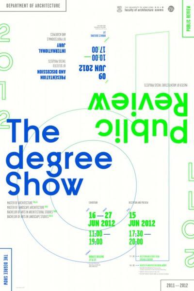 Architecture Degree Show 2012