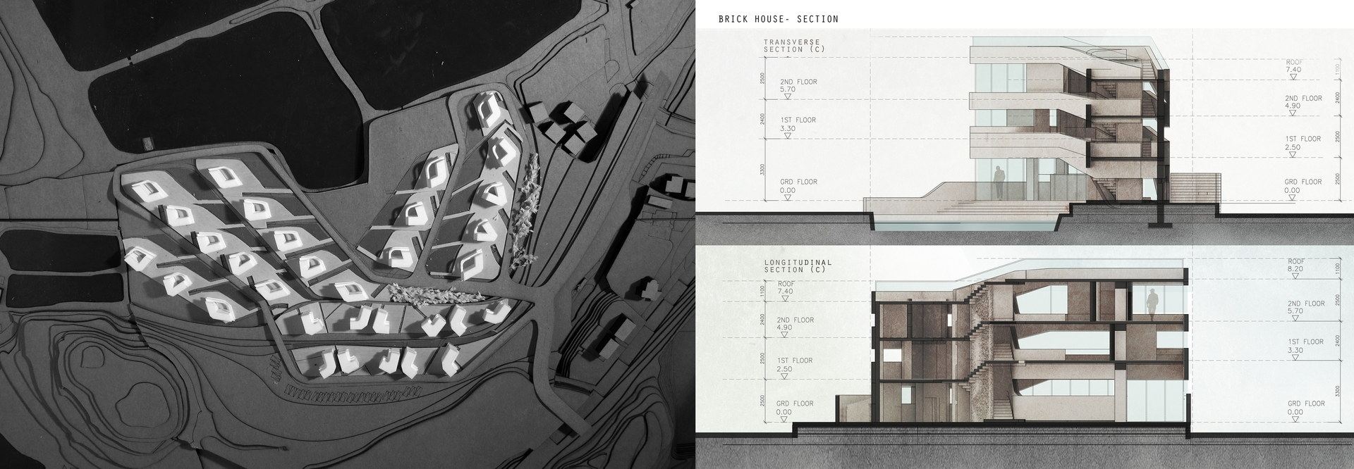 Enlarge Photo: Ideas for the Village: Rethinking Village House typologies in Hong Kong 3