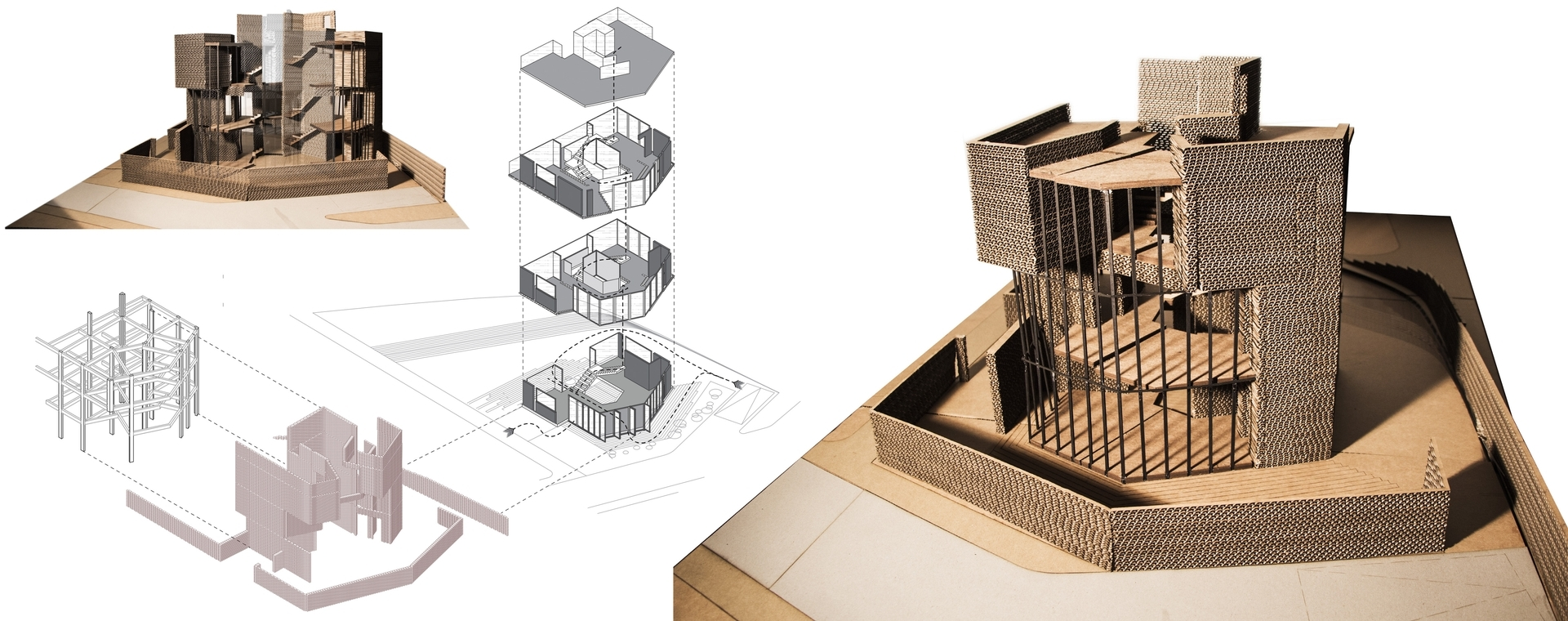 Enlarge Photo: Ideas for the Village: Rethinking Village House typologies in Hong Kong 6