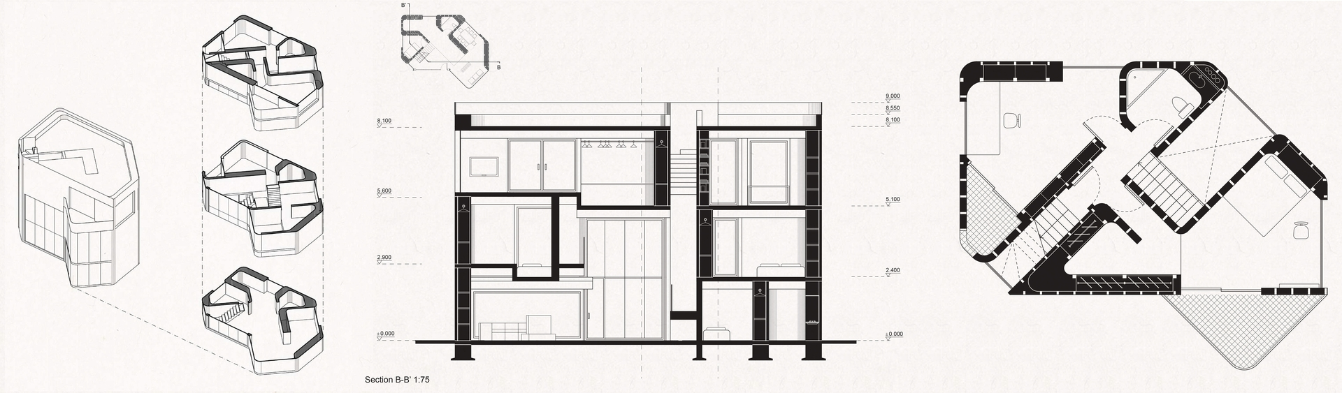 Enlarge Photo: Ideas for the Village: Rethinking Village House typologies in Hong Kong 10