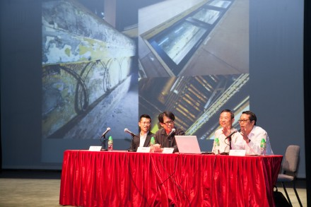 "Hoyin Lee lectures on ""Heritage Mysteries of Yau Ma Tei Theatre"""