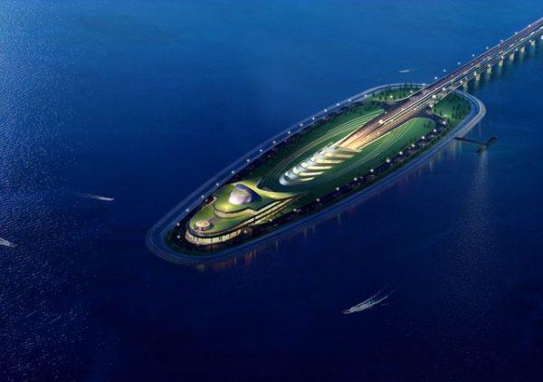 Artificial Island | Source: Highways Department