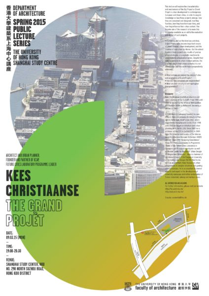 Spring 2015 Public Lecture Series (SSC) – Kees Christiaanse