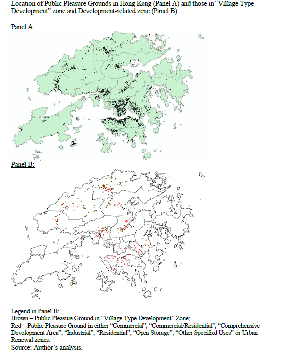 Land Supply and Land-use Planning of Public Open Space in Hong Kong
