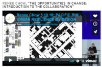 """RENEE CHOW, """"THE OPPORTUNITIES IN CHANGE: INTRODUCTION TO THE COLLABORATION"""""""