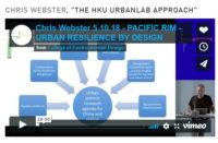 "CHRIS WEBSTER, ""THE HKU URBANLAB APPROACH"""