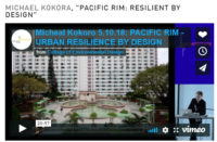"MICHAEL KOKORA, ""PACIFIC RIM: RESILIENT BY DESIGN"""