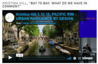 """KRISTINA HILL, """"BAY TO BAY: WHAT DO WE HAVE IN COMMON?"""""""